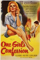 """One Girl's Confession - 11"""" x 17"""" - $15.49"""