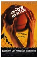 "Above the Rim - Basketball - 11"" x 17"" - $15.49"