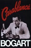 Casablanca Bogart Fine Art Print