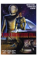 The Day the Earth Stood Still Scenes Wall Poster