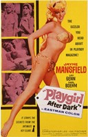 Playgirl After Dark Jayne Mansfield Wall Poster