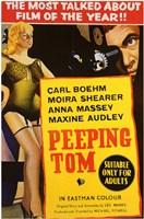 "Peeping Tom Anna Massey Maxine Audley - 11"" x 17"""