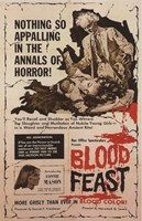 "Blood Feast - 11"" x 17"""