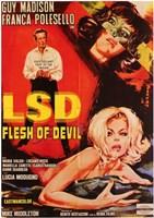 """Lsd Flesh of Devil - 11"""" x 17"""", FulcrumGallery.com brand"""