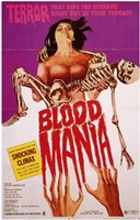 "Blood Mania - 11"" x 17"""
