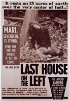 "Last House on the Left - 11"" x 17"" - $15.49"