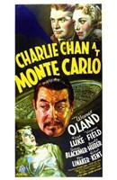 "Charlie Chan At Monte Carlo - 11"" x 17"""