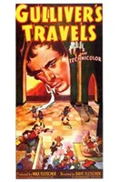 """Gulliver's Travels - large face - 11"""" x 17"""""""