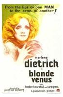 Blonde Venus Wall Poster