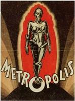 "Metropolis Robot - 11"" x 17"""