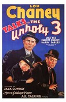 "The Unholy 3 - 11"" x 17"""