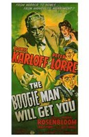 """The Boogie Man Will Get You - 11"""" x 17"""""""