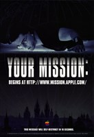 """Mission: Impossible - Your mission - 11"""" x 17"""""""