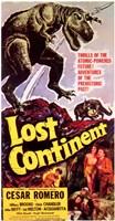 "Lost Continent - 11"" x 17"""