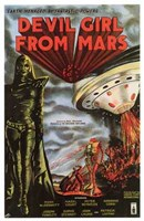 "Devil Girl from Mars - 11"" x 17"""