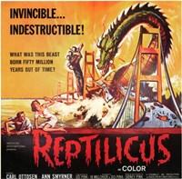 "Reptilicus Ottosen And Smyrner - 17"" x 11"""
