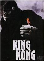 "King Kong Close Up Holding - 11"" x 17"""