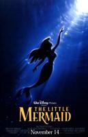 The Little Mermaid By Disney Fine Art Print