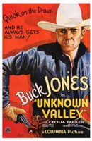 Unknown Valley Cowboy Wall Poster