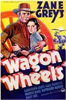 """Wagon Wheels - 11"""" x 17"""""""