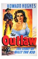 """The Outlaw The Story of Billy the Kid - 11"""" x 17"""", FulcrumGallery.com brand"""