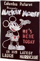 Mickey Mouse - He's Here Today Wall Poster