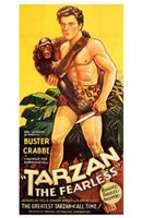 Tarzan the Fearless, c.1933 - Buster Crabbe Wall Poster