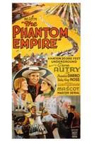 """The Phantom Empire Gene Autry - 11"""" x 17"""""""