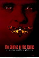 """Silence of the Lambs - red - 11"""" x 17"""""""