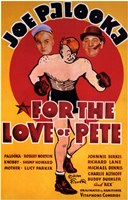 """for the Love of Pete - 11"""" x 17"""""""