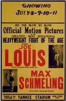 Joe Louis and Max Schmeling Fine Art Print
