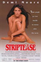 Striptease Wall Poster
