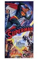 """Superman Comic - 11"""" x 17"""""""