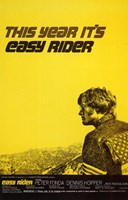 """Easy Rider This Year It's Easy Rider - 11"""" x 17"""""""