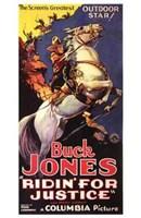 "Ridin' for Justice Buck Jones - 11"" x 17"""
