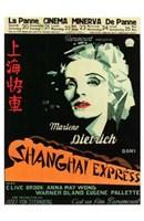 """Shanghai Express - 11"""" x 17"""""""