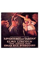 The Adventures of Tarzan, c.1921 - style C Wall Poster