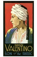 The Son of the Sheik With Rudolph Valentino Wall Poster