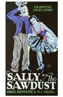 """Sally of the Sawdust - 11"""" x 17"""""""
