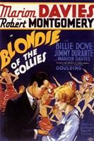 "Blondie of the Follies - 11"" x 17"""