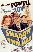 """Shadow of the Thin Man - 11"""" x 17"""""""