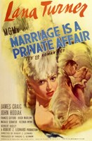 "Marriage is a Private Affair - 11"" x 17"", FulcrumGallery.com brand"