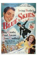 "Blue Skies - 11"" x 17"", FulcrumGallery.com brand"