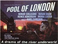 "Pool of London - 17"" x 11"""