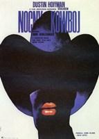 """Midnight Cowboy - dark figure - 11"""" x 17"""""""