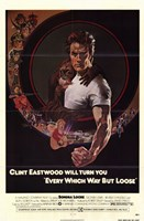 """Every Which Way But Loose Clint Eastwood - 11"""" x 17"""""""