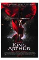 King Arthur Sword Wall Poster