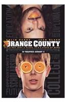 """Orange County - 11"""" x 17"""""""