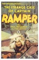 """The Strange Case of Captain Ramper - 11"""" x 17"""""""