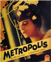 "Metropolis Yellow - 11"" x 17"""